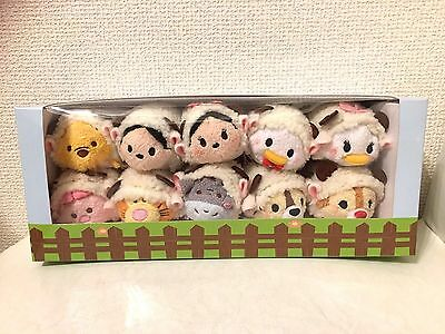 New! Disney Official 3000 Set Limited Sheep Set Tsum Tsum Disney Character Japan