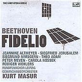 Beethoven: Fidelio - The Sony Opera House, Kurt Masur, Audio CD, New, FREE & FAS