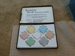 Vintage MID CENTURY MODERN DESIGN Ceramic Wall Tile Display Salesman Sample Kit