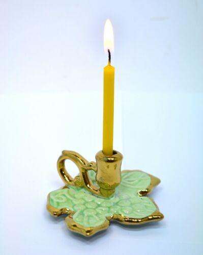 Keramische Kerzenhalter Blatt подсвечник керамический Лист разных цветов 3 cm