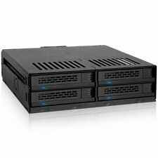 Icy Dock Expresscage Mb324sp-b Drive Enclosure Internal - Black - 4 X Total Bay
