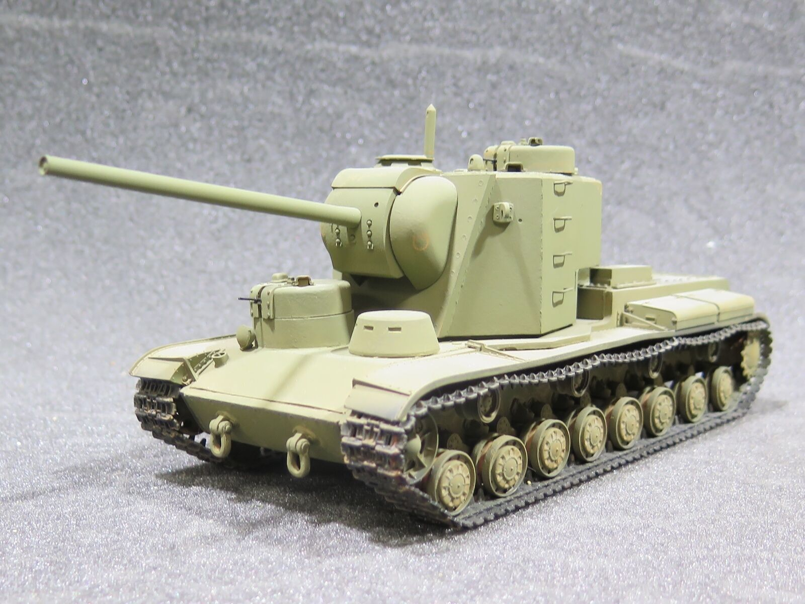 MI0760  - 1 35 PRO BUILT - Resin Atelier Infinite Soviet KV-5 Heavy Tank