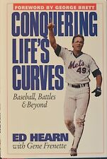 "ED HEARN Signed 1st Ed. HC/DJ Book ""CONQUERING LIFE'S CURVES"" LIKE NEW • COA"