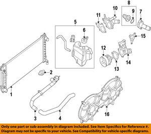Nissan Oem 07 13 Altima Engine Water Pump Gasket 110623z000 Ebay