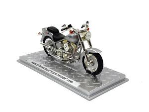 1-24-Harley-Davidson-FLSTF-FATBOY-1990-Motorcycle-Model
