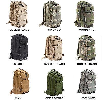 New Outdoor 35 L Army Assaut Tactique Sac à dos MOLLE Sac à dos randonnée Camping Sac