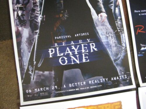 """Prints 11/"""" x 17/"""" Ready Player One Poster Movie Collector/'s Set of 4"""