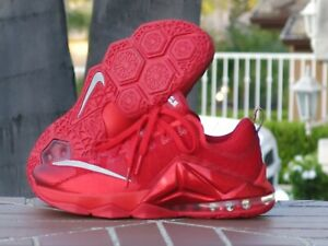 brand new a7dec f7a07 Image is loading Nike-LeBron-12-XII-Low-Premium-Men-s-