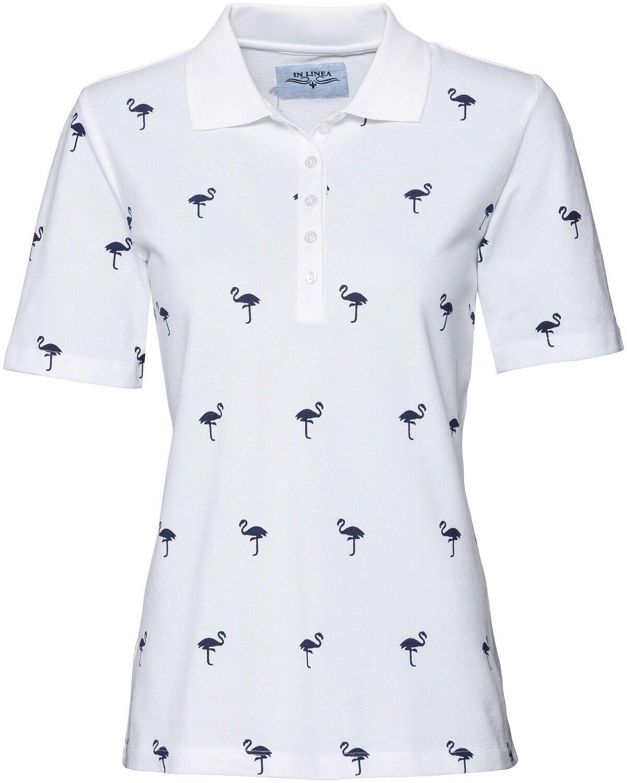 Luis Steindl T-Shirt mit Hirschdruck Kurzarm Kragenlos Rundhals Shirts NEU