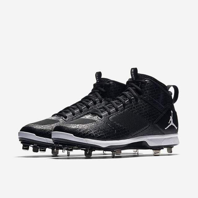 New Nike Jordan Jeter Clutch RE2PECT Metal Cleats Baseball Sz 11 DS AO2914-002