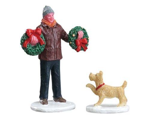 personnages de Noël, 52383 LEMAX personnages 261 Tree Lot Figure Noël