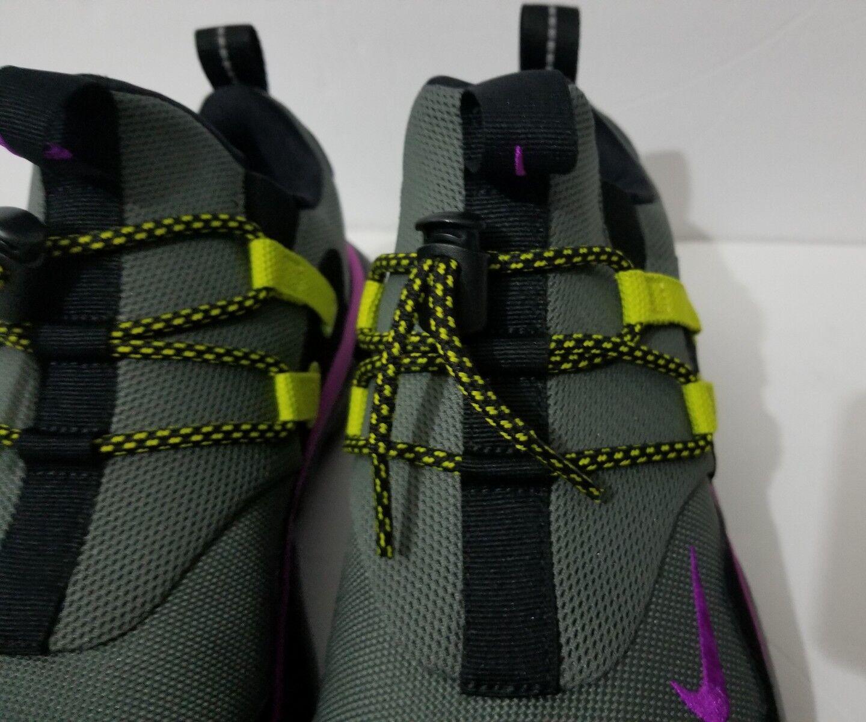 Neue nike taschenmesser dm ah9709-001 su fluss violett schwarz ah9709-001 dm spur laufen sz 10 f91c3d