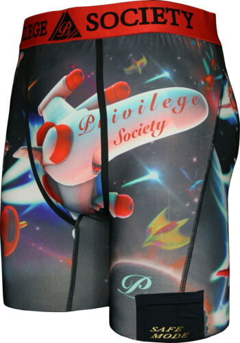 Privilege Society Space Shuttle PSD ethika underwear with pocket mens size S-2XL