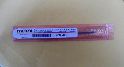 NEW Metcal STTC-113 STTC Series Soldering Cartridge