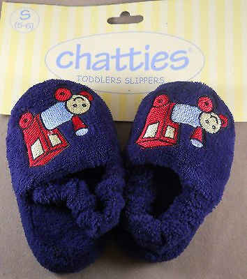 XL Chatties Toddlers Slippers Girls House Shoes New With Tags Size L M