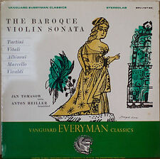 ITALIAN BAROQUE VIOLIN SONATA-SEALED1966LP Jan Tomasow, Violin