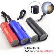 5Pcs Mini Portable LED Carabiner Flashlight  Keychain Torch Light Lamp AAA