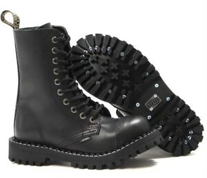 BOOTS-STEEL-TOE-RANGERS-10-HOLE-Bovver-Skinhead-Gothic-Punk