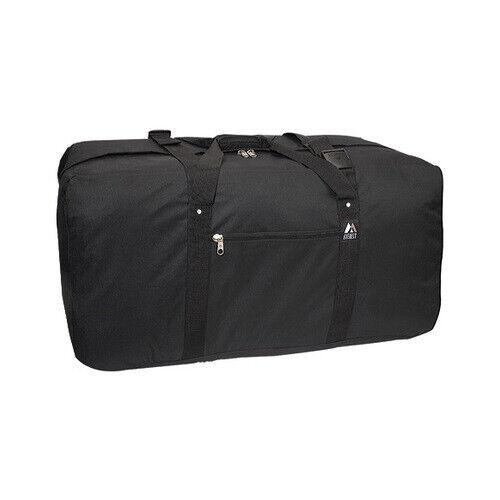 """Everest Unisex  36/"""" Large Cargo Duffel Bag 3618 Black Size OSFA"""