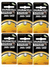 Duracell Silver Oxide Watch Calculator Battery 395 399