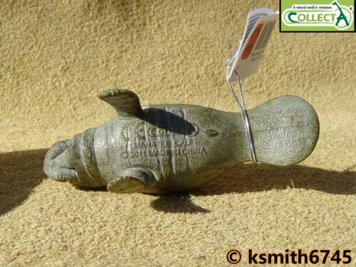 Collecta lamantin adulte solide Jouet en plastique Wild Zoo Mer Animaux Marins nouveau
