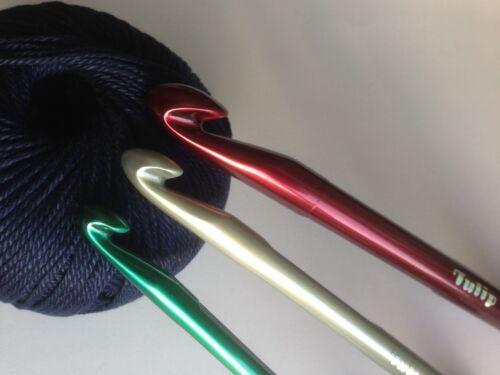 Tulip Giant Crochet Crochets T-7 aiguilles Acoustique Fil Craft Hobby laine