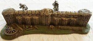 CIVIL WAR 54 mm FIRING STAND MILITARY SCENERY FOAM ATHERTON SCENICS (#9503C)