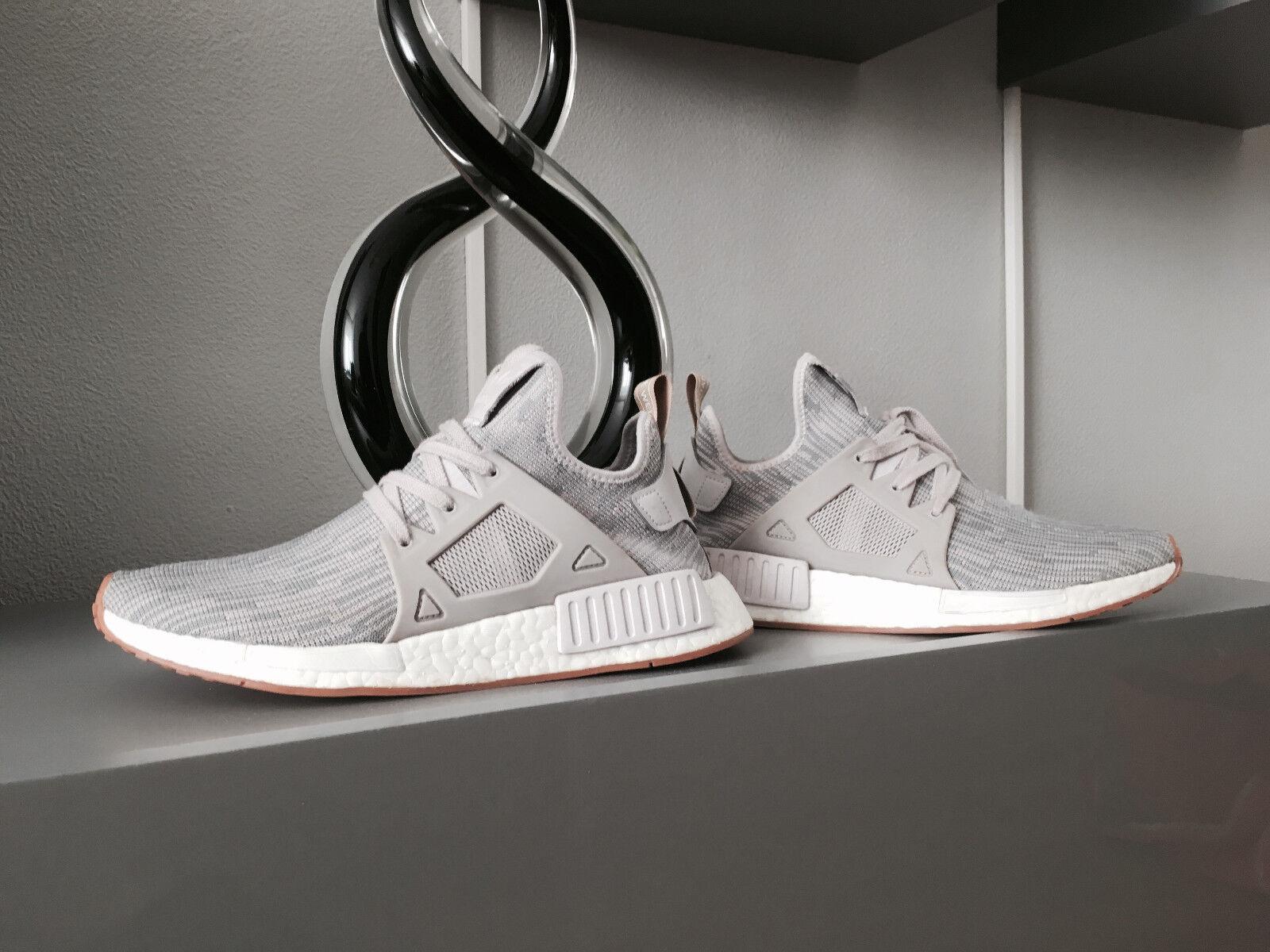 Adidas NMD Herrenschuh Gr.41 1/3 - 42 Sneaker Gum Grau Weiß TOP ZUSTAND!