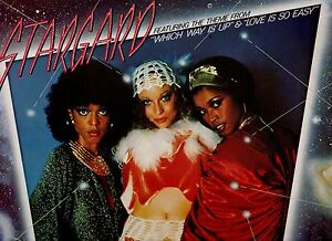 STARGARD-disco-LP-33-giri-WHICH-WAY-IS-UP-amp-LOVE-IS-SO-EASY-made-in-ITALY-1978