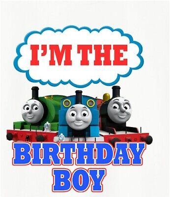 High Resolution Digital Printable Files Only Brother Thomas The Train Iron On Transfer Thomas The Train Birthday DIY Iron On Transfer