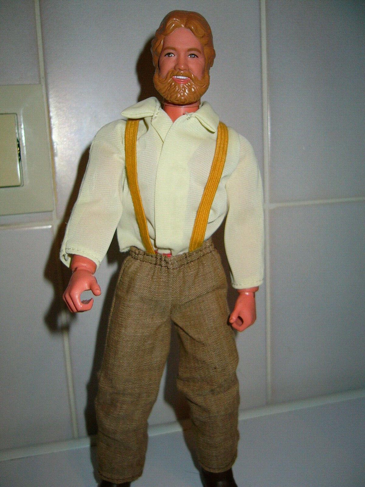 Big Jim - Grizzly Adams - Mattel - Vintage 1978. Bitte Beschreibung lesen