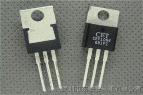 5 pcs CET CEP10N4 TO-220 450V N Channel MOS