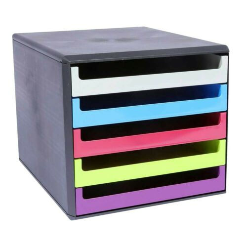 Schubladenbox 5 Schübe Ablagebox Briefablage Ablage NEU OVP