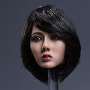 YMTOYS 1//6 Asia Girl Custom Short Hair Head Sculpt F 12/'/' Female Figure Ph Body