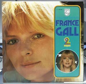 """France Gall - Double LP 33T. """" Les Grands Succés De """" (Gainsbourg) 1975  EX+/ EX"""