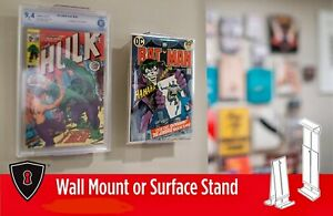 Comic-Book-Storage-Frame-Stand-Cgc-Sketch-Cover-Art-Display-Holder-ComicMount
