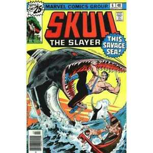 Skull-The-Slayer-6-in-Very-Fine-condition-Marvel-comics-dr