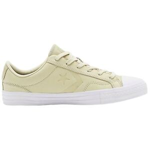 Converse Star Player Ox Natural White Mens Leather Low top Trainers