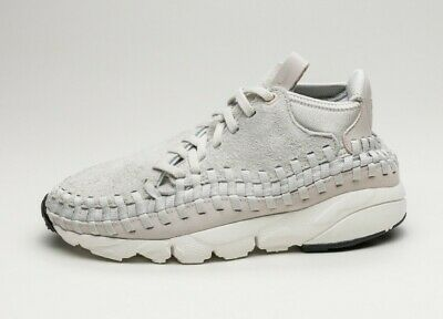 Nike Men Air Footscape Woven Chukka Qs (gray light bone