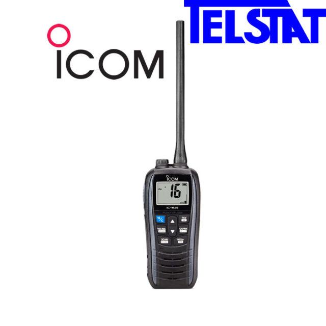 ICOM VHF IC-M25Euro ICM25 Handheld VHF Marine Radio 5 watts Float n Flash IPX7