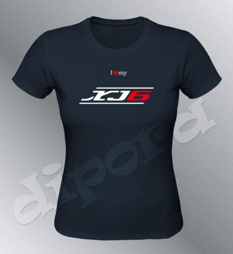 Tee shirt personnalise XJ6 S M L XL femme moto XJ 6