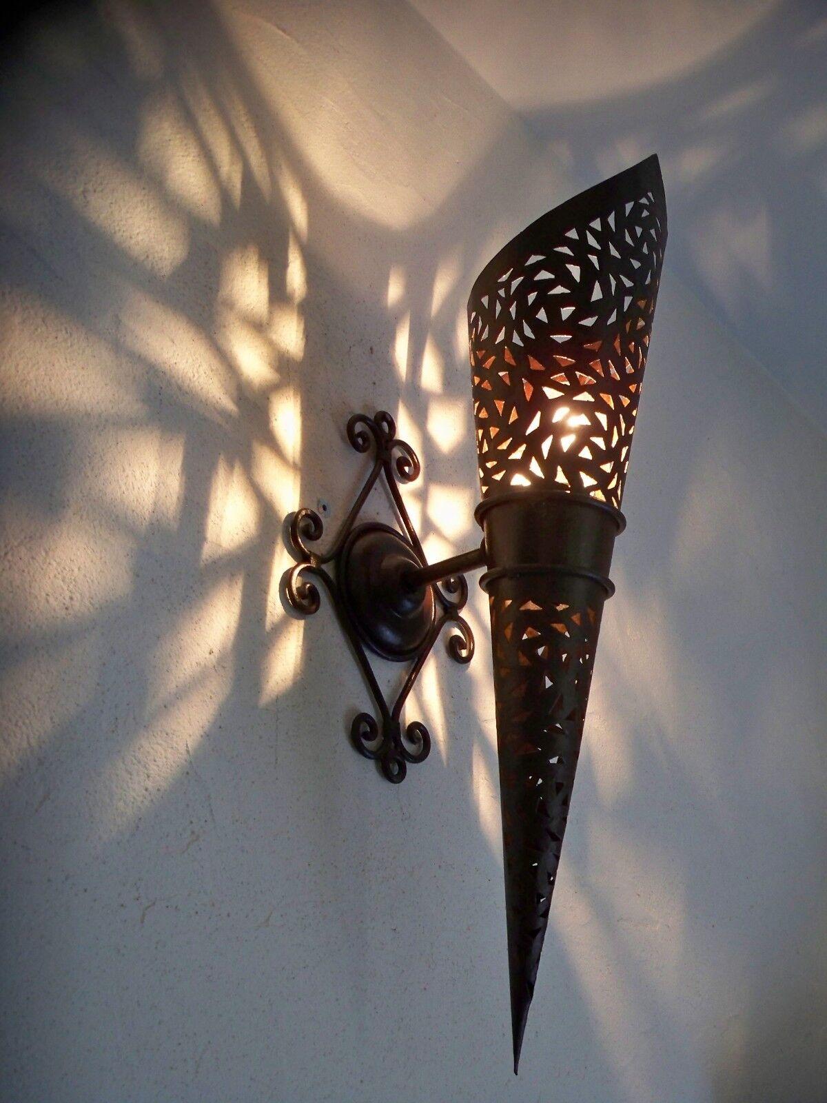 58 cm Marokkanische Orientalische Wandlampe Metall Wandleuchte Lampe lanterne