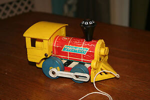 vintage 1964 Fisher price toot toot train - <span itemprop='availableAtOrFrom'>Hinckley, United Kingdom</span> - We offer a 14 day money back guarantee. If for any reason you are not satisfied with your goods, we will refund the price of the goods provided that they are returned in original conditi - <span itemprop='availableAtOrFrom'>Hinckley, United Kingdom</span>