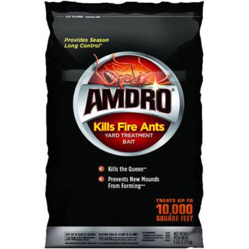 AMDRO Fire Ant Bait//Killer Yard Treatment 10,000 sq. ft. coverage 5 Lbs.