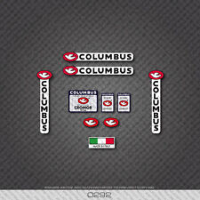 0292 Columbus CROMOR Tre Tubi Bicycle Frame and Fork Stickers - Decals