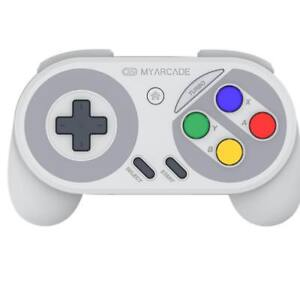 Details about MY ARCADE Gamepad Wireless Turbo Controller for Famicom &  SNES Classic Edition