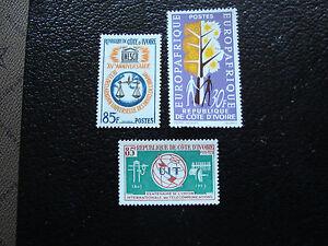 Valor-De-Marfil-Sello-Yvert-Y-Tellier-N-221-227-235-N-A10-Stamp