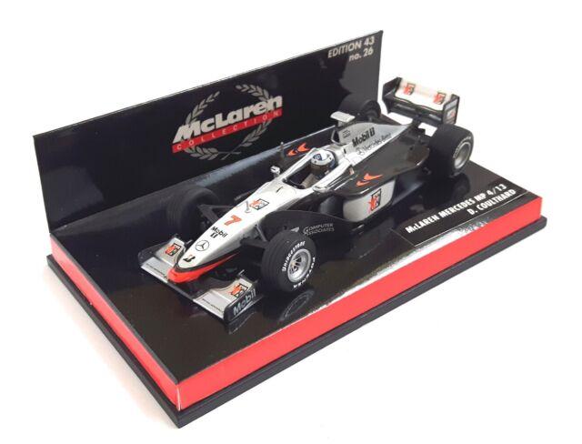 Coulthard 2003 Formula 1 1:43 Model MINICHAMPS McLaren Mercedes Mp4//18 D