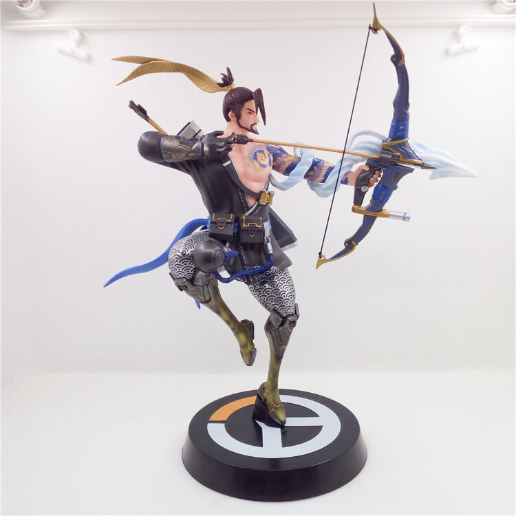 Blizzard OverWatch OW Heroes DragonStrike Hanzo Shimada PVC Figure Statue Model
