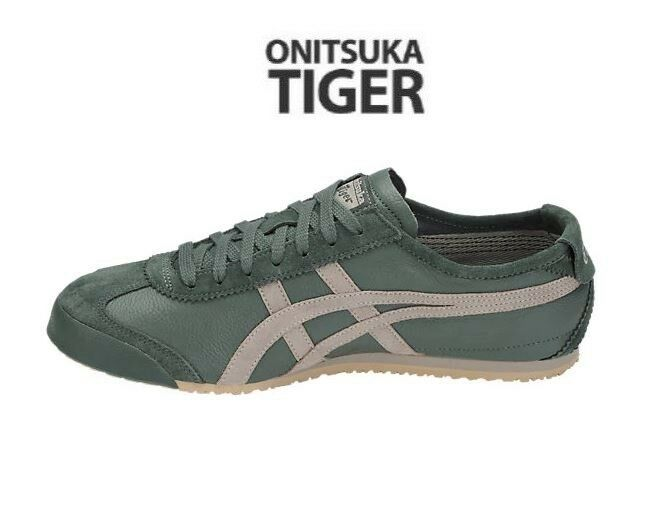 Asics Dark Onitsuka Tiger Mexico66 Vintage Dark Asics Forest Fashion Sneakers,Shoes acef2f